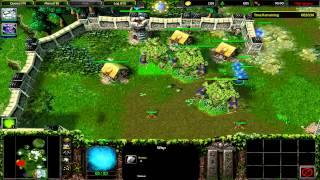 Warcraft 3 Twilight of the Gods Hard mode Defending Jaina's base