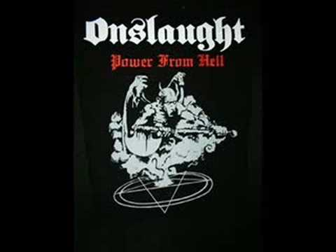 Onslaught - Onslaught Power From Hell