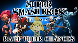 Super Smash Bros Ultimate - Rate Their Chances [3] - Octolings, Shadow, Isabelle, Impa & Dark Samus