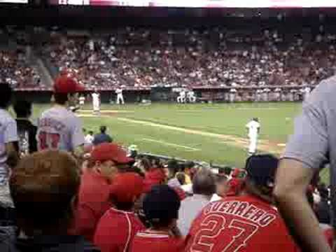 Chone Figgins bases loaded walk, Angels Win Video