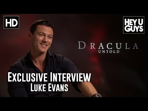 Luke Evans Interview - Dracula Untold (HD)