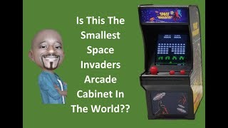 Space Invaders Mini Arcade Game Review (2018)
