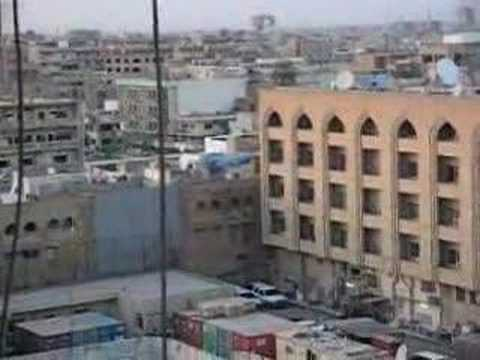 RPG Attack on the Baghdad Hotel