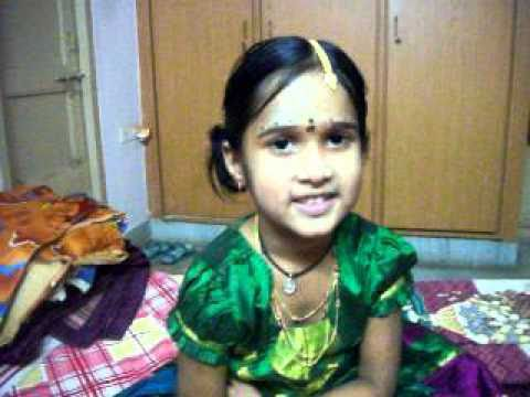 Chy.vaishnavi Recites Sri Lalitha Sahasra Namam video