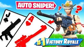 AUTO SNIPER *21* Blackjack LOOT Game Mode in Fortnite Battle Royale