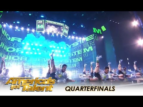 Junior New System: HIGH HEEL Dance Boys Bring Pinoy Power To America!   America's Got Talent 2018