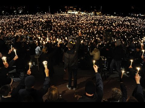 Candlelight Vigil Held For Legal System