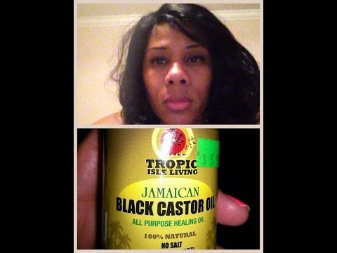 Grow Hair Using JAMAICAN BLACK CASTOR OIL (Review)