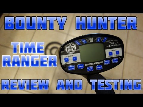 Metal Detecting:  Bounty Hunter Time Ranger - Unboxing and Testing Review!