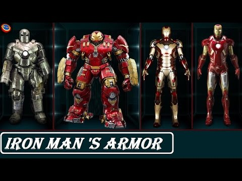 all Iron Man armor