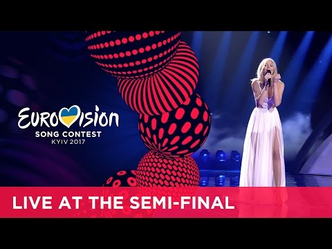 Kasia MoÅ› - Flashlight (Poland) LIVE at the first Semi-Final