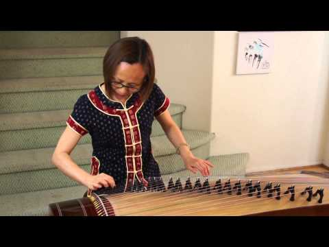 Yellow Land Tune 陇东小调 Victoria's Guzheng Practice