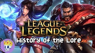 History of the Lore - League of Legends Lore