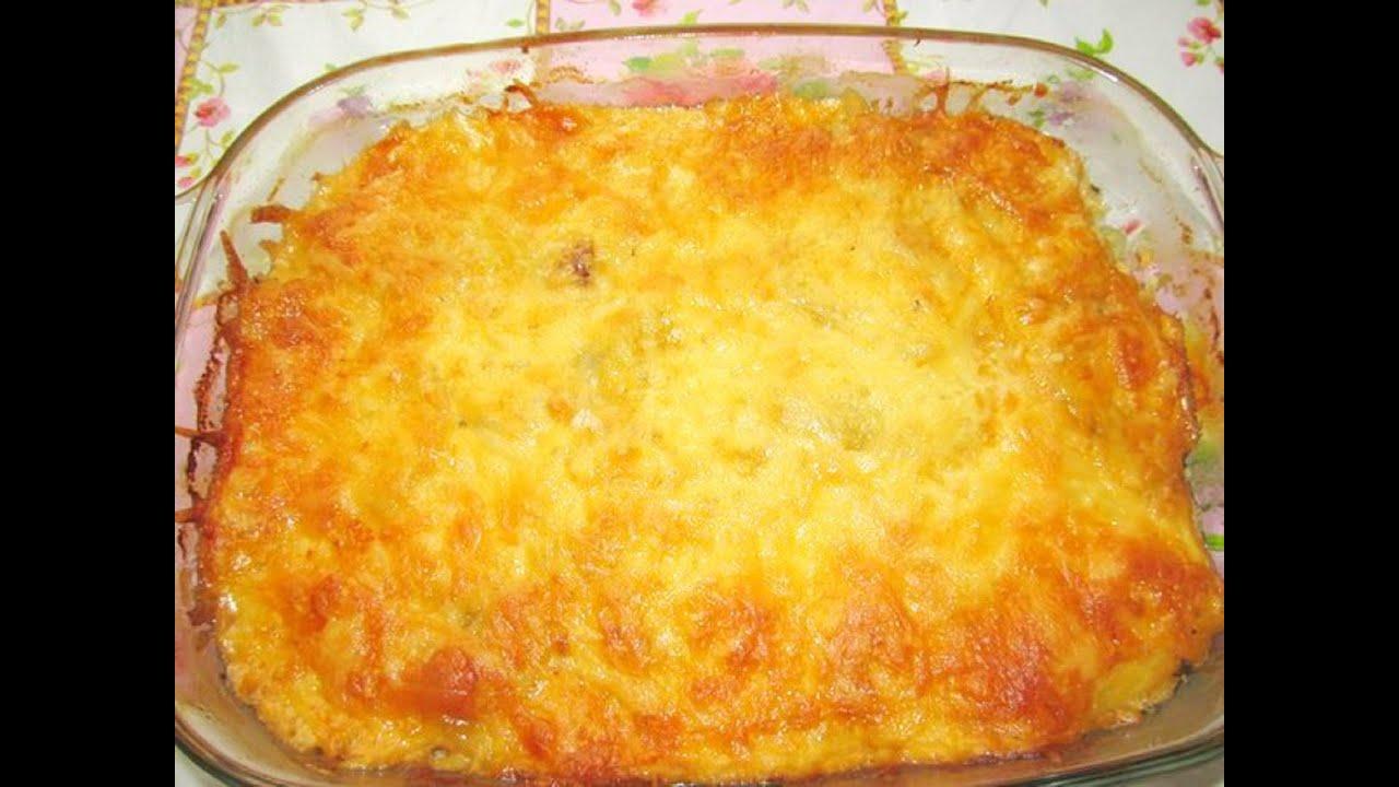 Вкусные картофельные запеканки рецепты с фото