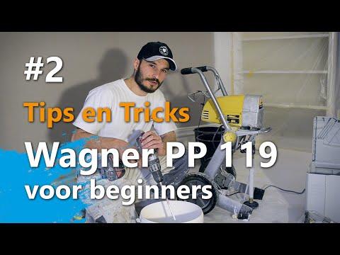 Wagner Project Pro 119 voor beginners - Voorbereidingswijze en spuittechniek (Part 2)