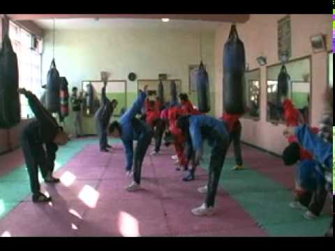 Afghanistan Women's Boxing Team
