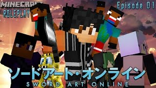 Sword Art Online - Episode 1 - Link Start (Minecraft Roleplay)