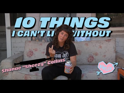 10 THINGS SHANAE COLLINS CAN'T LIVE WITHOUT! | Krux Trucks