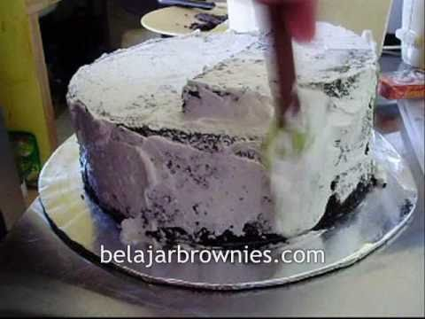 Birthday Cake Brownies Kukus Coklat Indonesia.wmv