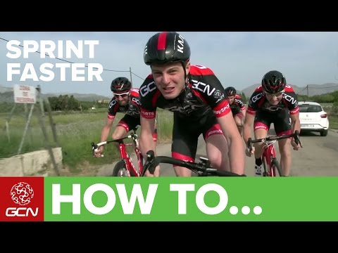 How To Sprint Faster | GCN's Road Cycling Tips
