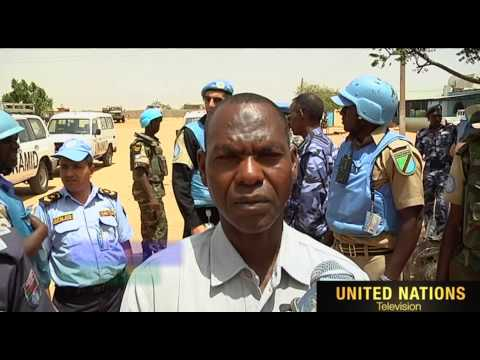 UNAMID rehabilitation GOS Police in Kabkabiya, North Darfur.