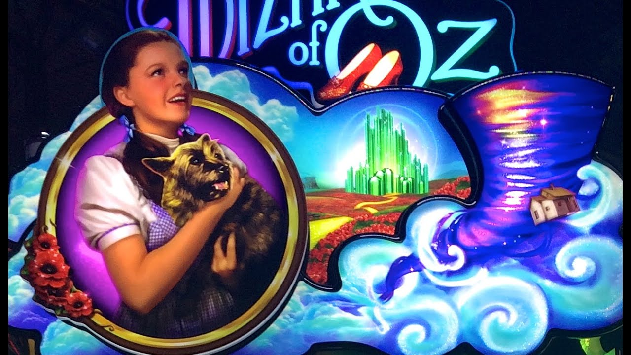 wizard of oz not in kansas anymore slot machine