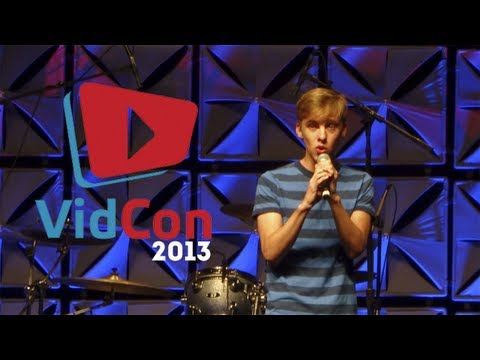 Jon Cozart performing After Ever After | VIDCON 2013
