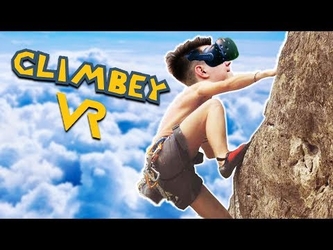 РУФЕРЫ-НЕУДАЧНИКИ ПОКОРЯЮТ ВЕРШИНЫ В ВИРТУАЛЬНОЙ РЕАЛЬНОСТИ (HTC Vive) Climbey
