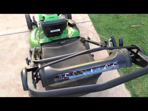 how to change spark plugs on a john deere js48