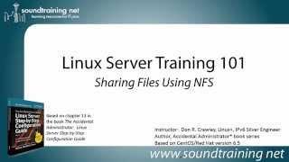 comment partager des fichiers L'utilisation de NFS: Formation Linux serveur 101