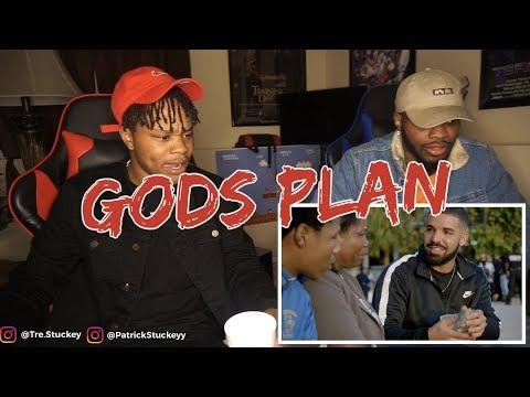 Drake - God's Plan (Official Music Video) - REACTION
