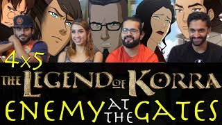 The Legend of Korra - 4x5 Enemy at the Gates - Group Reaction