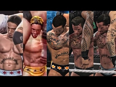 The Evolution Of CM Punk's G.T.S ( Smackdown vs RAW 2008 To WWE 2K15 )