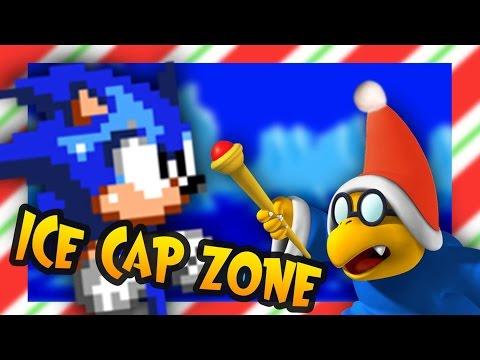 Misc Computer Games - Sonic 3 - Icecap Zone