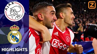 SPEKTAKELSTUK door DAPPER Ajax 💪🏼 | Ajax vs Real Madrid | Champions League 2018/19 | Samenvatting