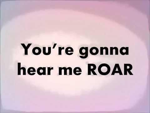Roar By Katy Perry Lyrics video