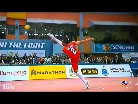Istaf Super Series 2013 14 Men's Final [malaysia - Thailand] Set1 video