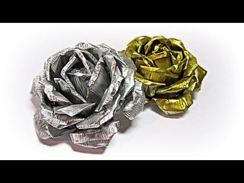 Aluminum roses. Rosas de aluminio.