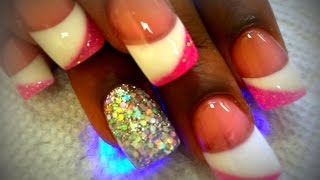How to 3 Colors Solar Nails