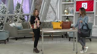 Vince Camuto Leather Shoulder Bag - Suni on QVC