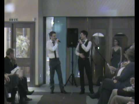 Josh Dubovie & Mike Shearer singing Me and My Shadow
