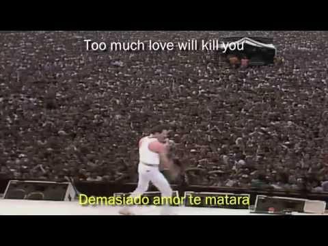Queen - Too Much Love Will Kill You [HD 720p] [Subtitulos Español / Ingles]