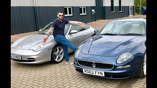 Porsche 996 vs Maserati 3200 GT, which should you buy for £14k?