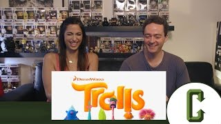 Trolls Trailer #1 Reaction & Review
