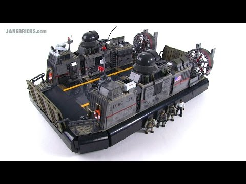 Mega Bloks Call of Duty 6859 Signature Series Hovercraft review!
