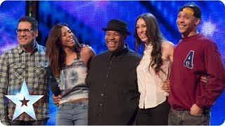 Band Of Voices Acapella Group Sing 'Price Tag' | Week 6 Auditions | Britain's Got Talent 2013