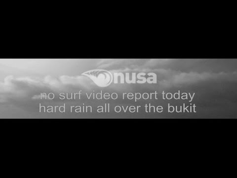 Surfreport 16-07-2016 /✰/ NUSA's Daily Surf Video Report from the Bukit, Bali.