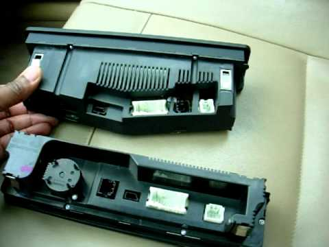 BMW E46 HVAC Automatic-On Climate Control Retrofit DIY Part 3