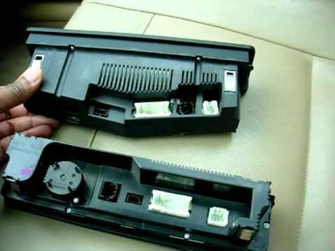 BMW E46 HVAC Automatic-On Climate Control Retrofit DIY Part 3