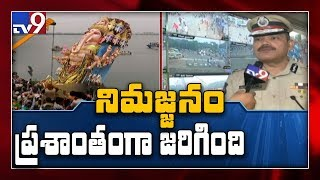 Hyderabad CP on Khairatabad Ganesh immersion - TV9